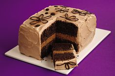 Double-Mocha Layer Cake recipe