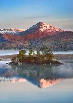 Rannoch Reflections - Scotland  Steve Emerson Photography