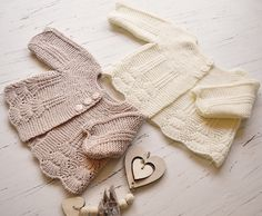 Ravelry: Shell border baby cardigan by OGE Knitwear Designs