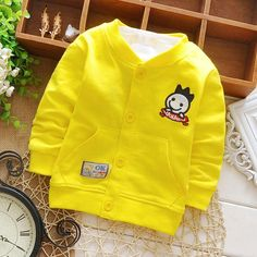 >> Click to Buy << Cartoon Jacket for Newborn Boy Spring Coats Baby Outerwear Infant Clothes Fashion 2017 Children's Coat Casual Cotton Clothes #Affiliate