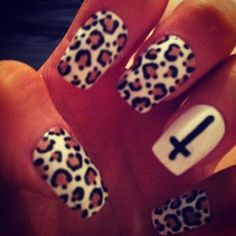 leopard & cross