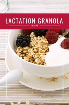 Lactation granola recipe