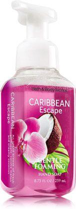 Caribbean Escape Gentle Foaming Hand Soap - Soap/Sanitizer - Bath & Body Works