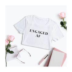 Engaged AF tshirt Bachelorette Tshirt Hen Party Tshirt