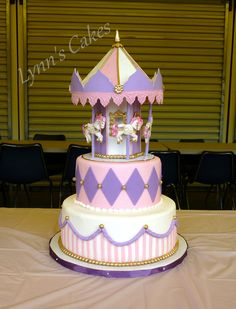 Carousel Birthday Cake on Cake Central