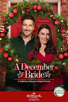 Fall in love with Daniel Lissing and Jessica Lowndes (Jack Thornton) in A December Bride. #hearties #ChristmasKeepsake