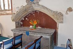 Tomb of Sir Richard Musgrave (d. 1464) in the Hartley Chapel. Sir Richard is the grandson of another Sir Richard Musgrave, whose effigy can also be found in the chapel.