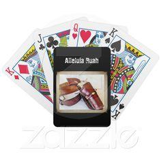 Fast Draw Gunslinger Alias Playing Cards from Zazzle.com