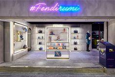 FENDI Fendirumi pops up at Harrods - Retail Focus - Retail Blog For Interior…