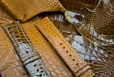Different Croco Styles Straps now at Maurice de Mauriac Zurich store Swiss Made Watches, Zurich, Store, Bracelets, Accessories, Products, Storage, Business, Bracelet