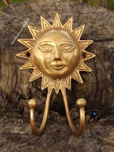 New at 'Moonbeams and Mayhem' http://www.ebay.co.uk/itm/MAGIKAL-NEW-AGE-BRASS-SUN-COAT-HOOK-HIPPIE-BOHO-FESTIVAL-INDIE-TIE-DYE-HIPPY-/121605323821?