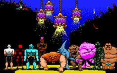 Tongue of the Fatman is an old science fiction action game, developed by Brian A. Rice and released by Activision in Dangerous Minds, Fat Man, Fighting Games, Gaming Computer, Pixel Art, Really Cool Stuff, Science Fiction, Video Game, Retro