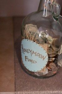 Collection Jar: I am so having this instead of gifts, much more practical