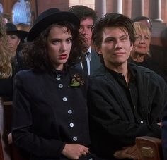 "Winona Ryder & Christian Slater, ""Heathers"""
