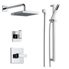 View the Delta DSS-Arzo-1401 Monitor 14 Series Single Function Pressure Balanced Shower System with Shower Head, and Hand Shower - Includes Rough-In Valves at FaucetDirect.com.