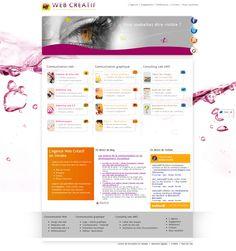 My own website, quite light and feminine