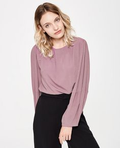 Sofia | Loose Tapered Blouse | AW18 | Sitting Pretty | Ethical Apparel