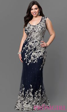 Shop plus-sized long formal dresses at Simply Dresses. Sexy plus-size prom dresses, plus formal dresses, plus-size evening gowns, and long formal party dresses in plus sizes. Plus Size Formal Dresses, Plus Size Gowns, Elegant Dresses, Plus Size Dresses, Beautiful Dresses, Plus Size Evening Gown, Evening Gowns, Mode Plus, Creation Couture