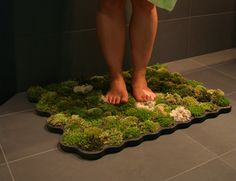 Moss Bathmat Feels Good, Looks Great Most Popular Posts | Apartment Therapy Re-