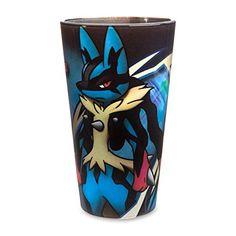Mega Lucario Mega Mayhem Glass Tumbler
