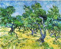 It's About Time: Van Gogh's olive groves & Christ in the Garden of Olives 1889