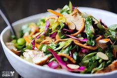 Lighter Chinese Chicken #Salad