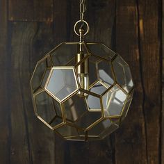 If we told you why this football shaped pendant was called the Moore, you might be more (or less) inclined to hang it.... It's a very classy light....