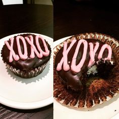 Downtown Campbell: #cupcake #vday #valentinesday #2016 #hespoilsme #helovesme #cute #hostess #foodporn #yummy #chocolate #love #happiness #xoxo by sweetxinsanity