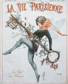 Chéri Hérouard (1881 – 1961). La Vie Parisienne, 22 Juillet 1922. [Pinned 14-viii-2020] Champs, Life