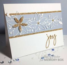 Winter Joy   by Sherry Hester by the Memory Box Design Team
