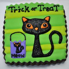 Cute #Halloween cookie