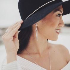 #gorgeous --- #Repost @chloeandisabel ・・・ Hats off to @jensinereyes, rocking one of our #5TrendsToTry — statement #earcandi ✨ #regram #chloeandisabel #candistyle