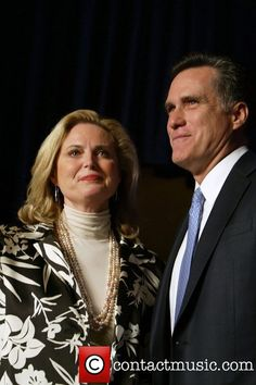 Anne Romney and Mitt Romney at the CPAC Conservative Political Action...   Anne Romney Picture 5086349   Contactmusic.com
