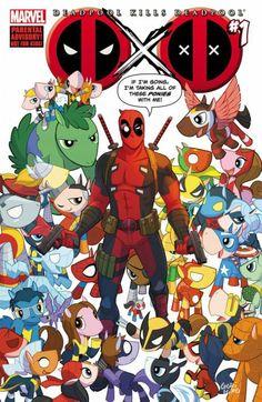 Just an alternative cover of: Deadpool kills Deadpool comic.