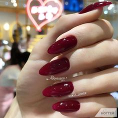Comment and rate them one by one. 20 Trendy Nail Art Designs For Long Nails For Girls Simple twists on the classic color. Clique e veja esses Tutoriais Para Você Aprender a Decorar as Unhas em Casa! Aycrlic Nails, Nail Manicure, Cute Nails, Pretty Nails, Hair And Nails, Mani Pedi, Perfect Nails, Gorgeous Nails, Nails Factory