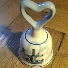 My #ceramic #bell from #Holland #handbell #bellcollection #ceramicbells #ceramicbell #колокольчик #коллекция