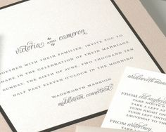 Formal Wedding Invitations Blush Wedding