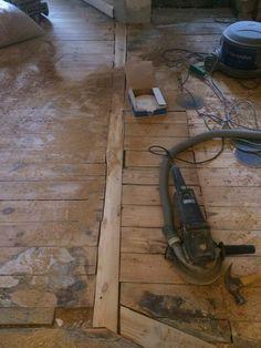 Planke til hul fra væg