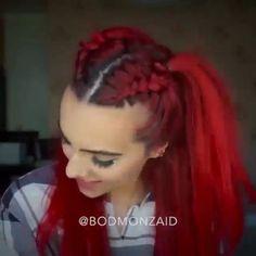 Love her hair! ❤️ @bodmonzaid #1minutehair