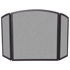 3 Fold Bronze Fireplace Screen with Continuous Arch #LearnShopEnjoy