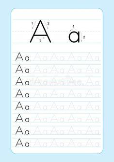 kindergarten letter m writing practice worksheet printable // impri… | arbeitsblätter zum