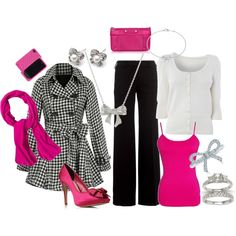 love the pink and black.. This is so me!