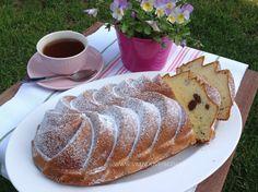 Tvarohová bábovka French Toast, Cheesecake, Bread, Cupcakes, Breakfast, Sweet, Food, Pizza, Handmade