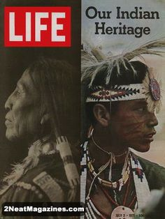 Life Magazine July 2, 1971 : Cover - Our Indian Heritage.
