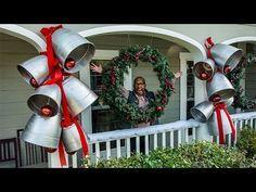 0cf64b885dc How To - Ken Wingard s DIY Giant Silver Bells - Hallmark Channel