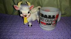 Milk Glass Baseball Theme Stackable Glasbake Coffee Cup ~ White Red Black ~ Baseball Lover by MyPurpleCowLuvsMilk on Etsy