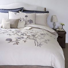 Christy EH Chinoiserie Coordinated Bedding Oyster | Coordinated Bedding | Arnotts