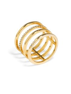 Ice Quad Ring Ring | BaubleBar