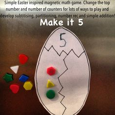 A great super easy to prepare game that is bursting with mathematical skills and concepts!