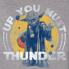 OKC Thunder - Up You Must Thunder - (Unisex Heather Gray) from Spin City Tees
